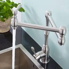 Retractable Kitchen Faucet Single Hole Retractable Kitchen Faucet