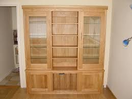 living room dresser. Oak And Glass Living Room Dresser