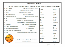 Free Printable Vocabulary Worksheets | Compound Words Printable ...
