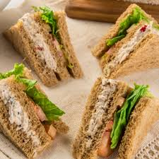 Sliced Bread Sandwiches Paan Paan