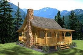 Log Cabin Home Plans And Small Cabin Designs  Cottage Exterior Small Log Home Designs