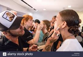 Fashion Design Internships Nyc Summer 2018 New York Ny September 11 2018 A Model Prepares
