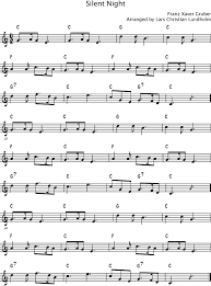 sheet music silent night smashwords silent night pure sheet music solo for violin arranged