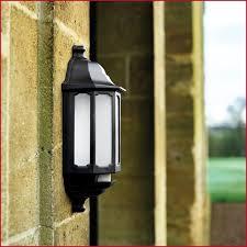 half lantern outdoor wall light with pir designs