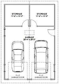 2 Car Garage Door Sizes Standard  WageuziSize Of A 2 Car Garage