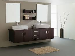 bathroom sink. Double Contemporary Sink Bathroom Vanities Cabinets, Modern