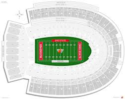 Ohio St Football Stadium Seating Chart Ohio Stadium Ohio State Seating Guide Rateyourseats Com