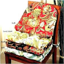 fashionable dining chair pads with ties cushions without elegant cushion seat uk ch