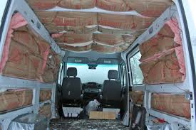 insulating the sprinter van