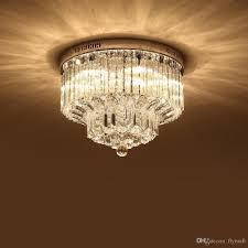 modern k9 crystal chandelier lighting flush mount led ceiling light fixture pendant lamp for dining room bathroom bedroom livingroom living room chandelier