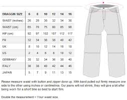 Jean Size Chart Us Mens Clothing Sizes International Conversion Charts And