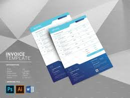 Download Modern Invoice Template Word Pics
