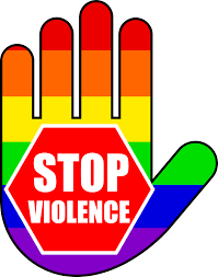 symbolism what is a symbol showing support for gay rights that stop violence symbol stop violence symbol