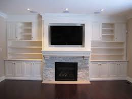 fireplace built ins wall units