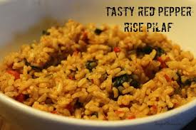 brown rice pilaf recipes. Brilliant Brown Tasty Red Pepper Rice Pilaf Recipe For Brown Recipes