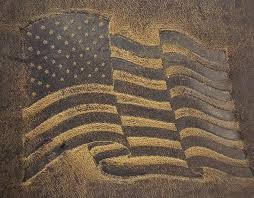 us flag embossed genuine 100 leather wallets are hand made in the usa using distressed