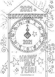 Listed below are the coloring pages under disney coloring pages. New Year Colouring Pages