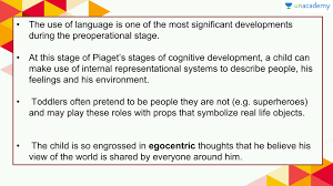 Piaget S Stages Of Cognitive Development Chart Piaget Theory Of Cognitive Development Kozen