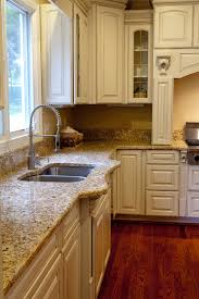 Granite With Cream Cabinets Design Tip More Cabinet And Granite Pairings
