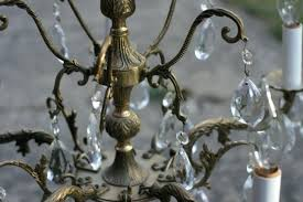 brass and crystal chandelier chelier chelier brass and crystal chandelier worth antique brass crystal chandelier made