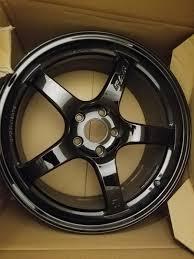 Gramlights 57cr Gloss Black 18x8 5 36 2016 Honda Civic
