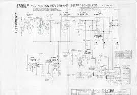 bf sf princeton reverb fenderguru com logical schematics