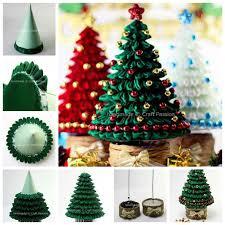 Creative Ideas Diy Ribbon Kanzashi Christmas Tree