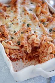 cheesy baked ziti make ahead freezer