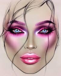 Sealing Gel In 2019 Makeup Face Charts Makeup Charts Mac