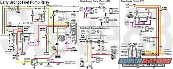 1976 ford bronco tech diagrams pictures, videos, and sounds early bronco fuse panel at 1975 Ford Bronco Wiring Diagram