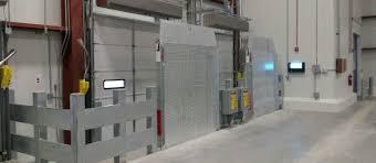 fire shutters rolling steel door vertical storage dock levelers