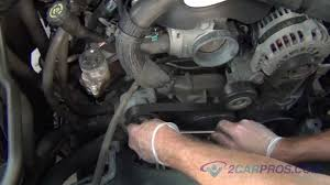 Serpentine Belt Replacement Chevrolet Tahoe, Suburban, SIlverado ...