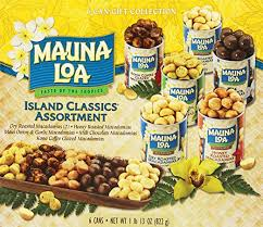 amazon mauna loa island clics ortment 5 5 oz 6 count snack macadamia nuts grocery gourmet food