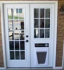 door with built in dog door doors surprising french doors with dog door built in pet door french door panel budget screen door with dog door built in home