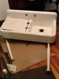 kitchen sink with drainboard wayfair