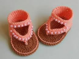Crochet Baby Sandals Pattern Impressive Crochet Crosia Free Patttern With Video Tutorials How To Crochet