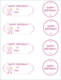 Birthday Tags Template Birthday Tags Template Rome Fontanacountryinn Com