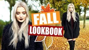 fall autumn lookbook cute cosy outfit ideas