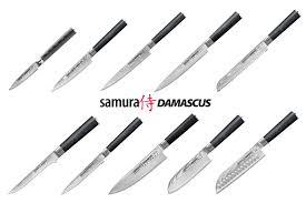 <b>Набор</b> из <b>10 кухонных</b> дамасских <b>ножей</b> Samura Damascus