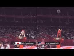 Vault gymnastics gif Fail Kohei Uchimura Olympics Vault 25 Twisting Yurchenko Amanar gymnastics gif the Mens Vault Is Higher So Mckayla Started Out Lower But Got Higher Pinterest Mckayla Maroney Vs Kohei Uchimura Olympics Vault 25 Twisting