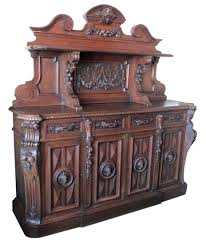 antique wood furniture. Beautiful Wood Carved European Sideboard Throughout Antique Wood Furniture