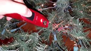 Christmas Tree Light Hacks Pre Lit Christmas Tree Repair Hack