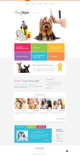 Dog Web Design Dog Responsive Website Template 47636 Website Template