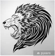Plakát Lev Tetování