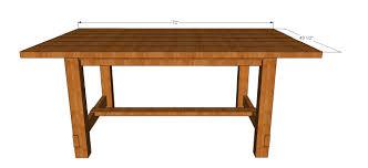 Kitchen table plans farmhouse dining room elegant markthedevcom