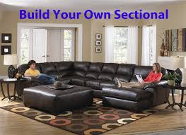 lawson build your own leather sectional by jackson 4243 larger photo