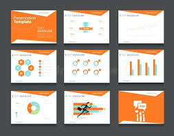 Blue And Orange Powerpoint Template Orange Powerpoint Templates Jaxos Co