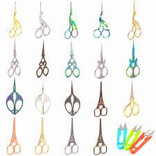 <b>Vintage</b> Hot <b>Scissors</b> 37 Styles <b>Retro</b> Zigzag <b>Sewing Scissors</b> ...