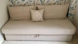ikea himmene three seat sofa bed nearly new