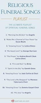 150 Best Funeral Songs